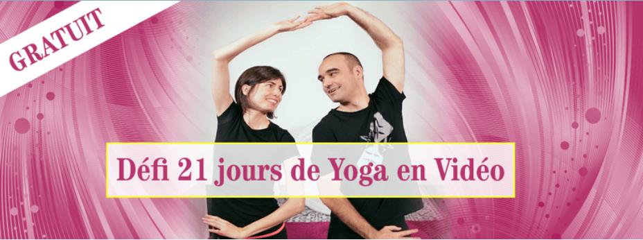 Défi 21 jours : 5 minutes de yoga par jour par Peggy et Jeff
