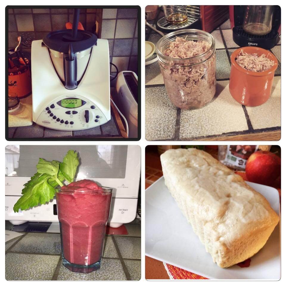 Healthy food avec le Thermomix