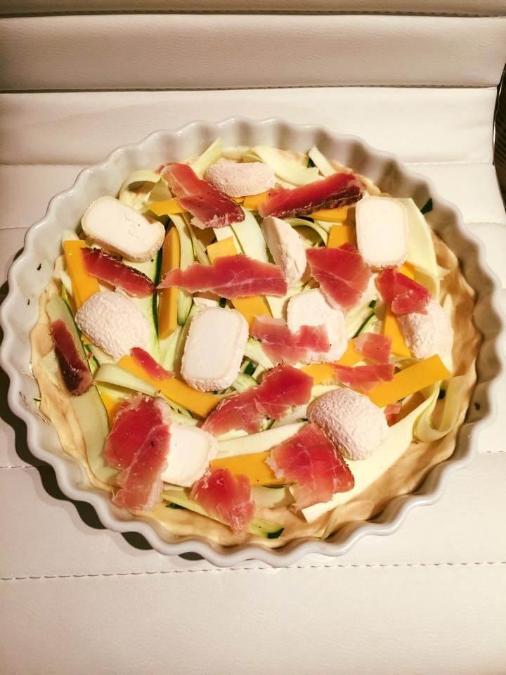 Réaliser une tarte avec les restes du frigo