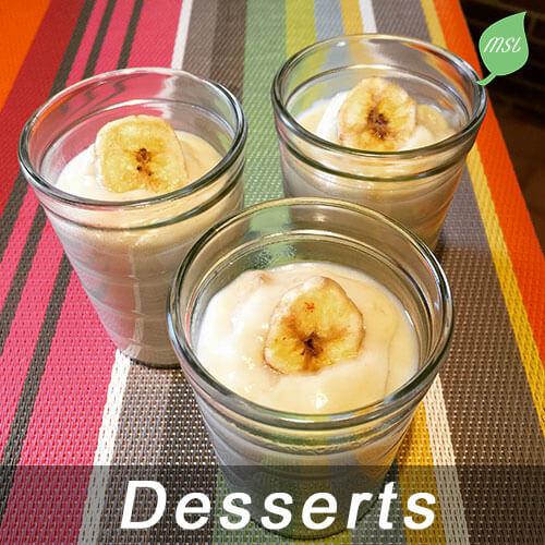 Recettes desserts par My Slow Life