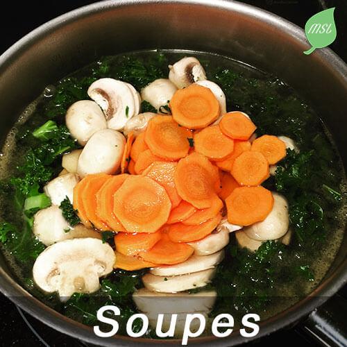 Recettes de soupes par My Slow Life