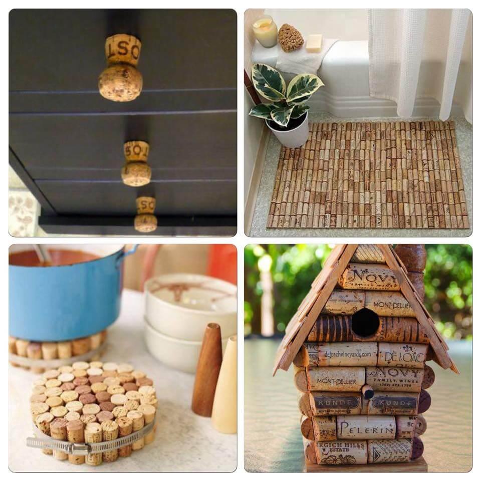 recycler des bouchons en li ge. Black Bedroom Furniture Sets. Home Design Ideas