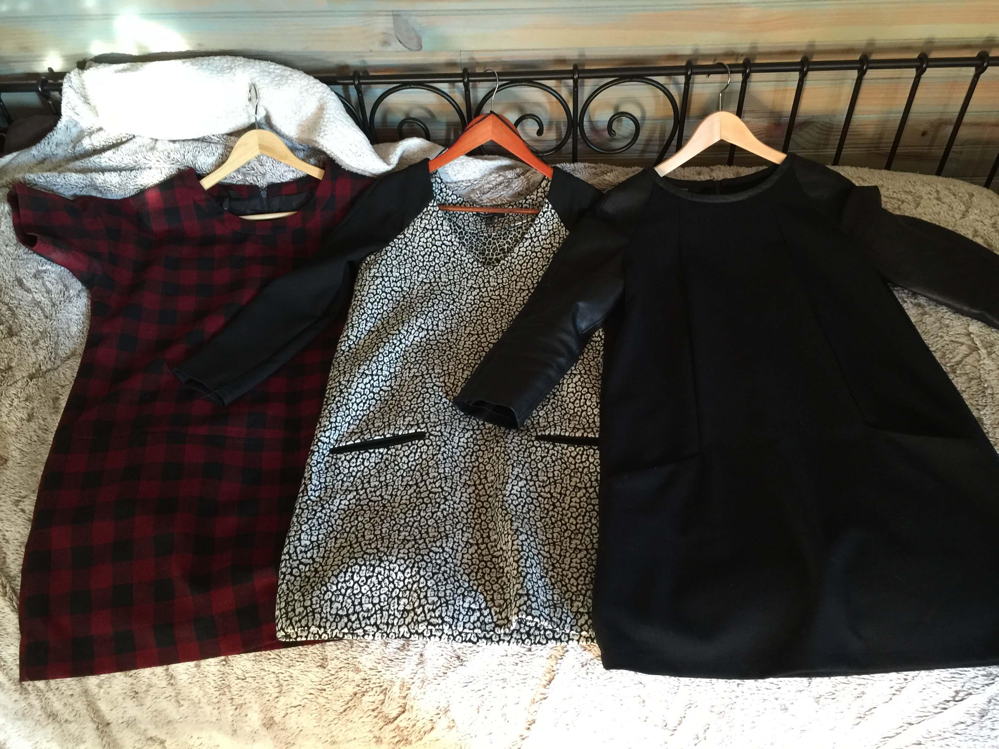 Robes anciennes de ma capsule wardrobe hiver