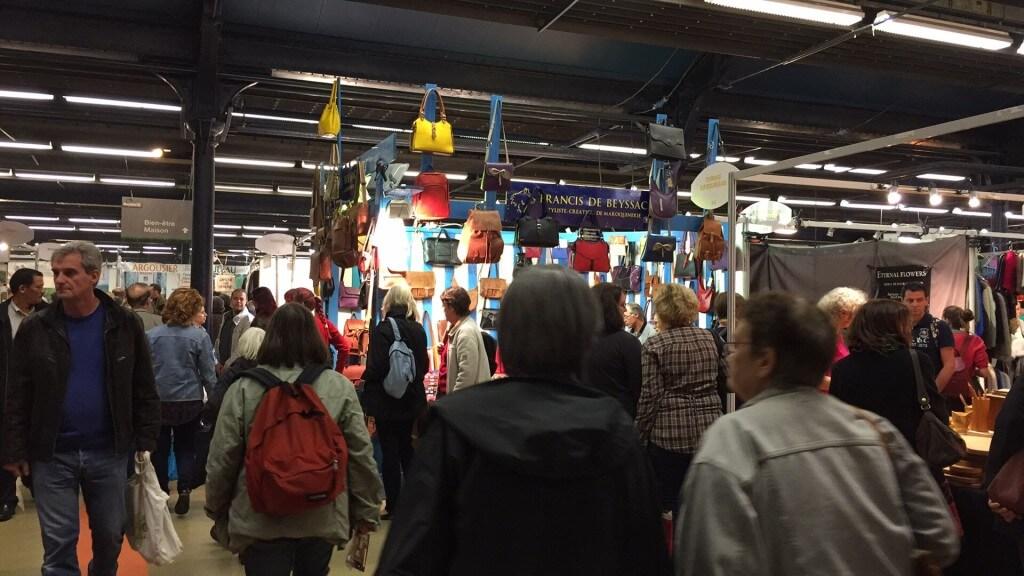 Visite et achats sur le salon du bio marjolaine paris for Salon bio paris