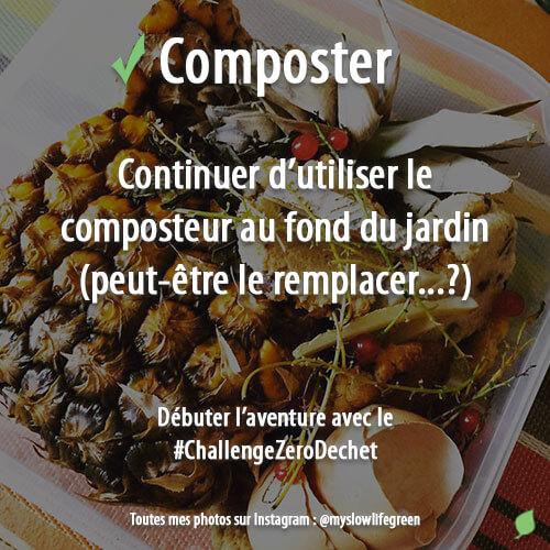 Composter les déchets organiques