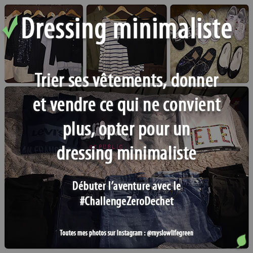 Obtenir un dressing minimaliste