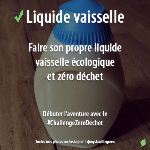 Fabriquer du liquide vaisselle écologique