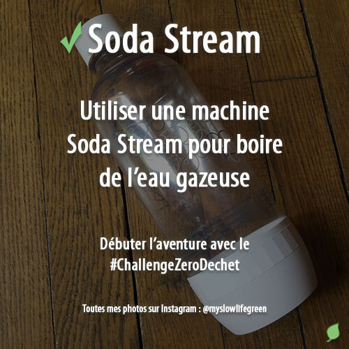 Utiliser une machine Soda Stream