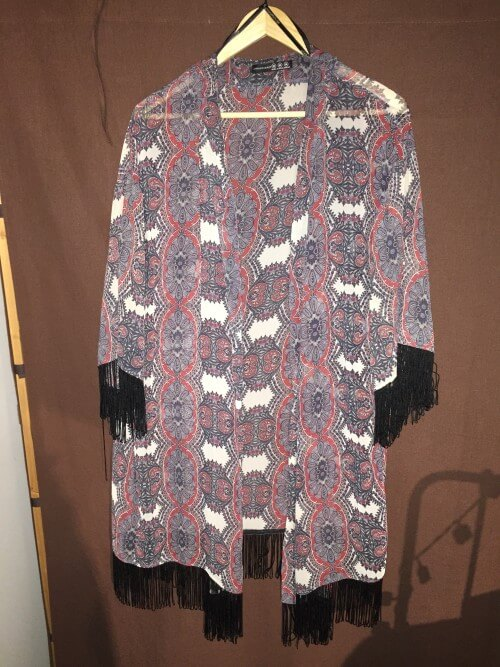 Kimono capsule wardrobe printemps/été 2016