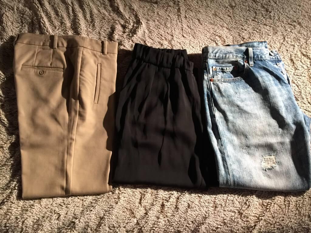 Pantalons capsule wardrobe printemps/été 2016