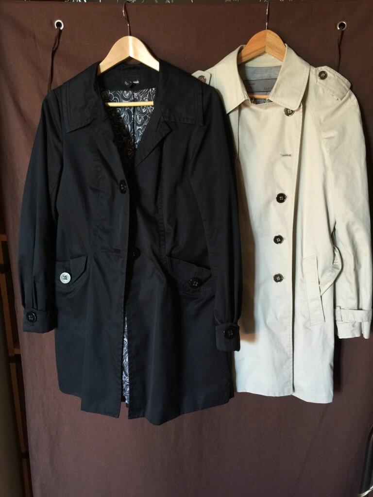 Trench capsule wardrobe printemps/été 2016