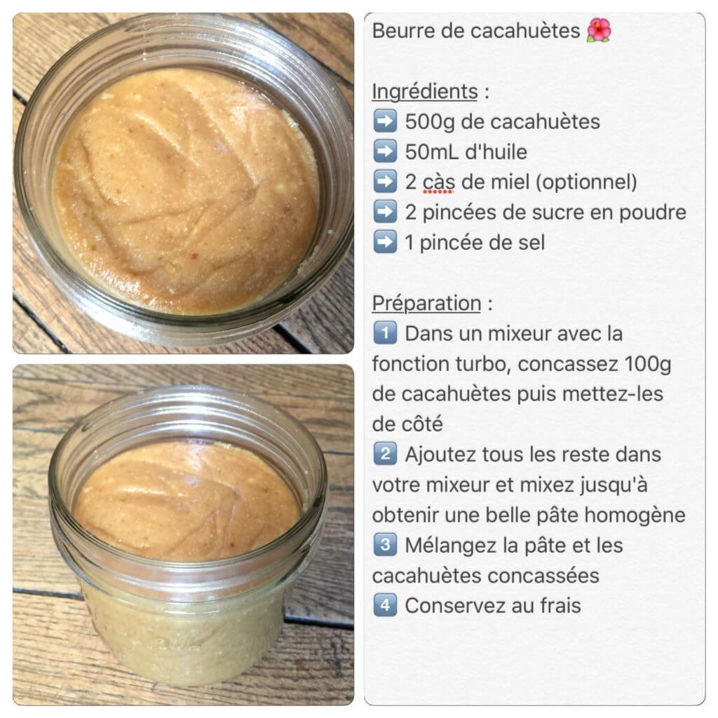 Recette de beurre de cacahuètes