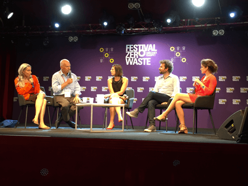 Cyril Dion et le film Demain au Festival Zero Waste