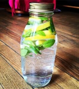 Recette de boisson aromatisée naturellement