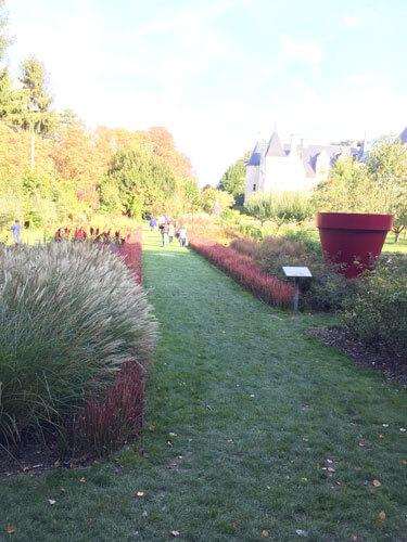 L'allée des fées du château du Rivau