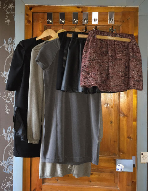 Robes et jupes pour ma capsule wardrobe automne hiver 2016