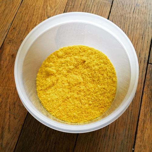 Faire de la poudre d'oranges
