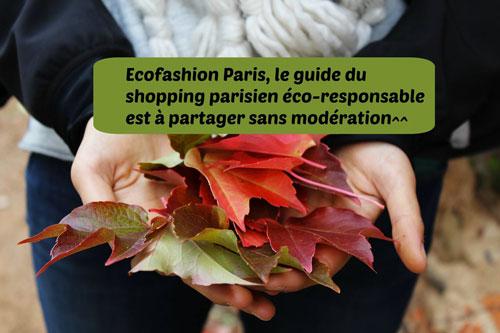 Ecofashion Paris : une alternative à la fast-fashion