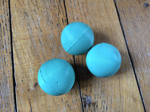 Balles de lavage écologique