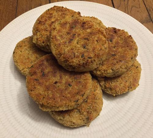 Burgers de pois chiches vegan de Marie Laforêt