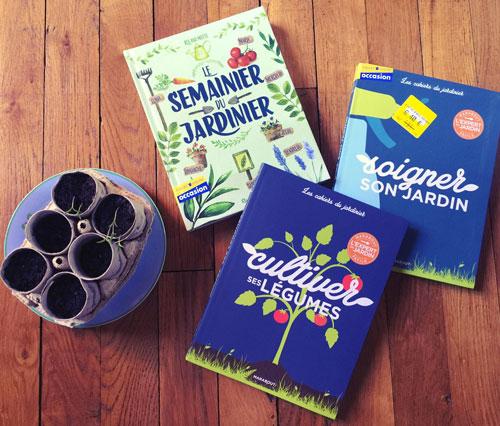 Livres pour apprendre à jardiner