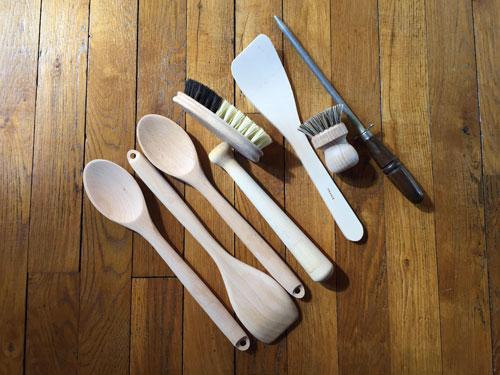 Ustensiles en bois pour une cuisine zéro déchet
