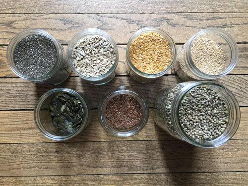Les graines : ces supers aliments