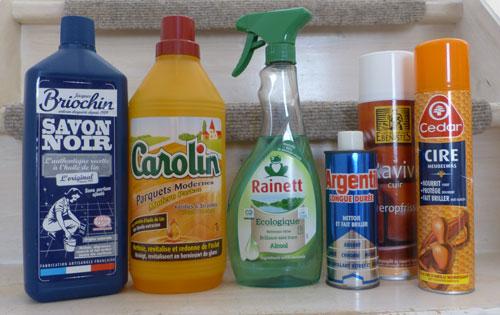 Produits ménagers conventionnels