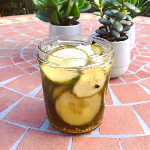 Recette de pickles de concombre