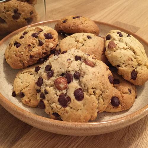 Recette de cookies végane