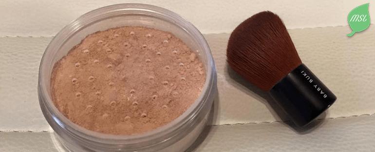 Recette de poudre naturelle pour le teint