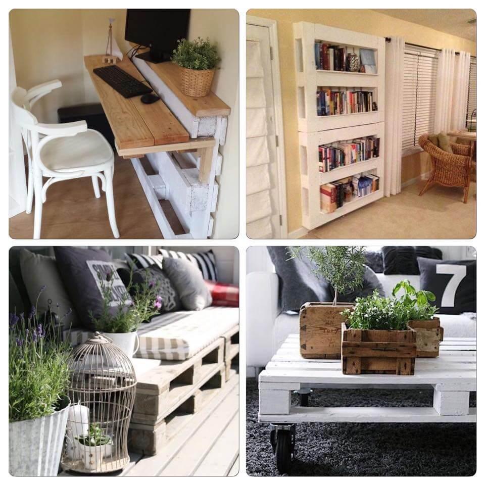 cr er des meubles avec des palettes en bois. Black Bedroom Furniture Sets. Home Design Ideas