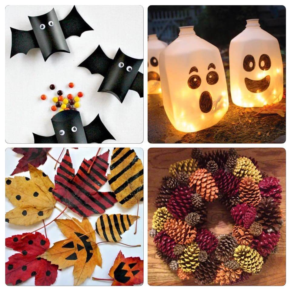 Récupérer des objet du quotidien pour vos décorations d'Halloween
