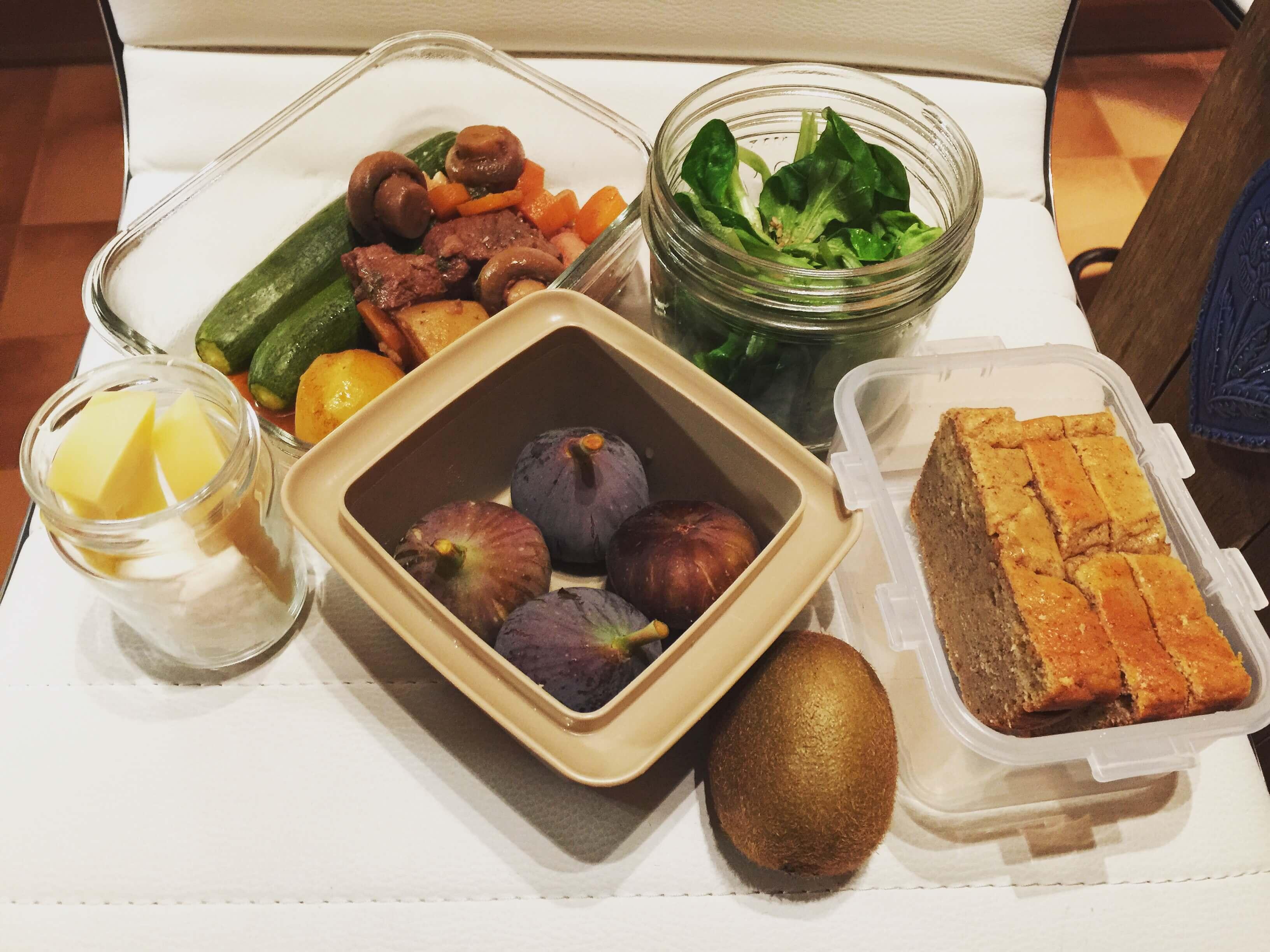 Repas healthy pour toute une journée