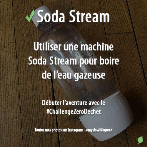 Utiliser une machine Soda Stream
