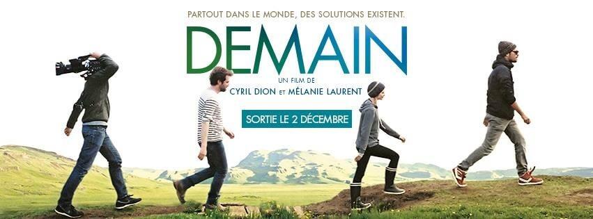 Demain film de Cyril Dion et Mélanie Laurent