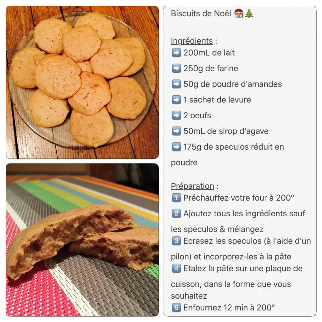 Recette de biscuit aux spéculons pour Noël