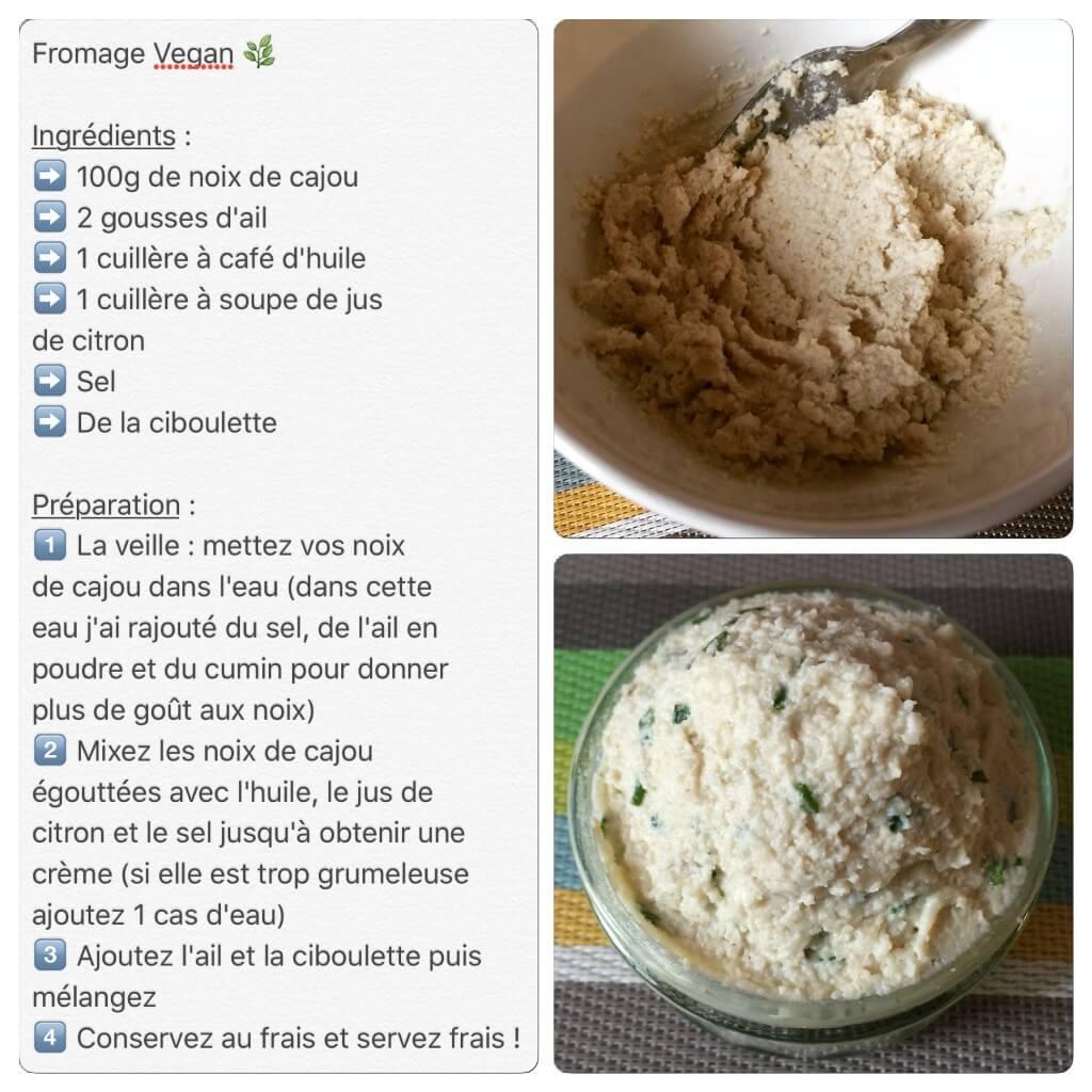Recette de fromage végétal / vegan
