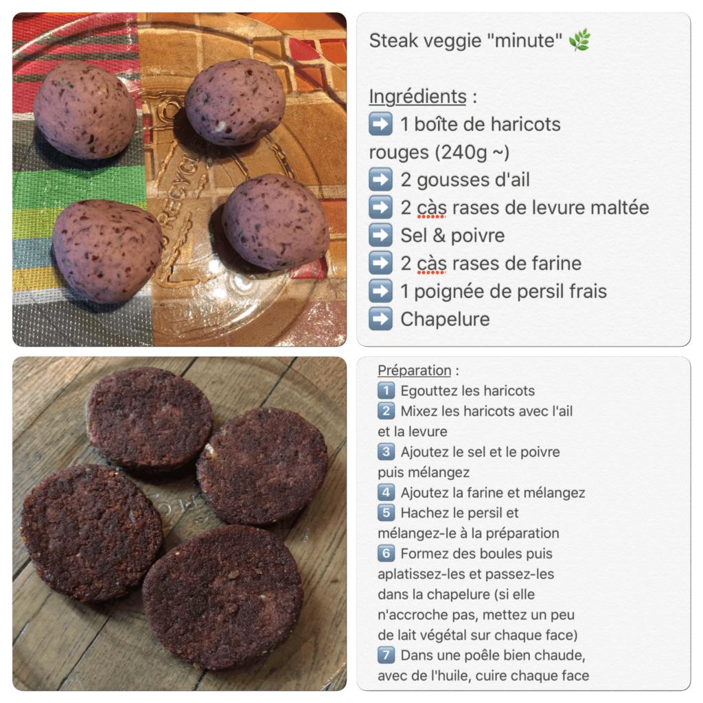 Recette de steak vegan rapide et simple à réaliser