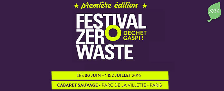 Festival Zero Waste Paris 2016