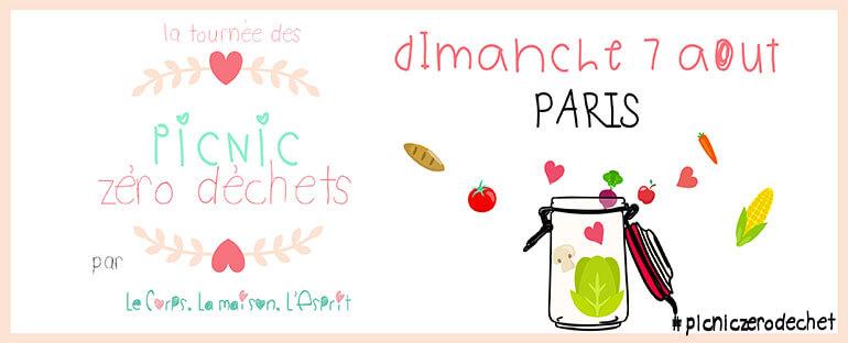 Pique-nique zéro déchet à Paris