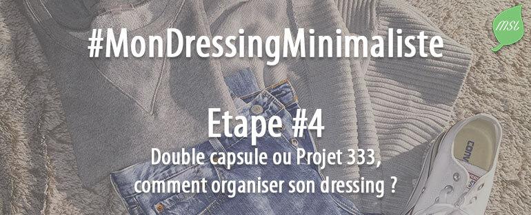 4ème étape du challenge Mon Dressing Minimaliste