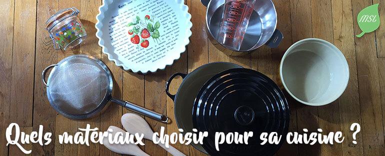 Choisir des matériaux écologiques et durables pour la cuisine