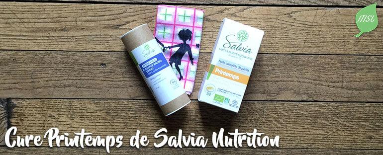 Cure Printemps pour lutter contre la rhinite allergique avec Salvia Nutrition