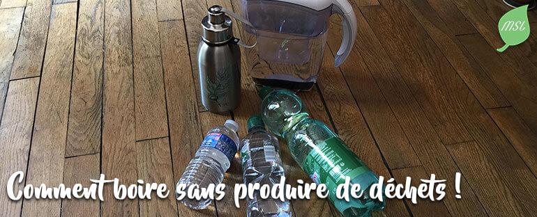 Alternatives aux bouteilles d'eau en plastique