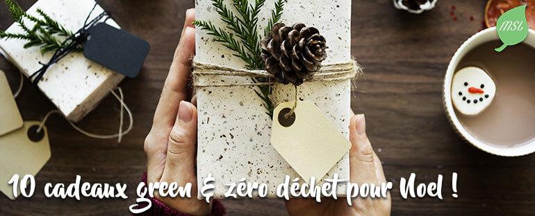 10 cadeaux éthiques et zéro déchet pour Noël